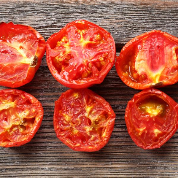 Gebackene Tomaten mit Pesto