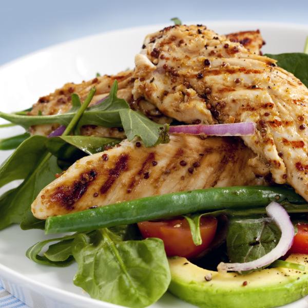 Hähnchenbrust-Avocado-Salat