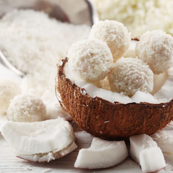 Protein-Kokosbällchen
