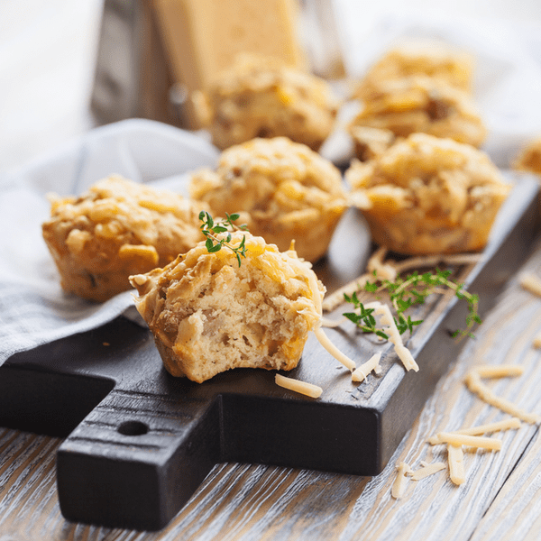 Schinken-Käsemuffins