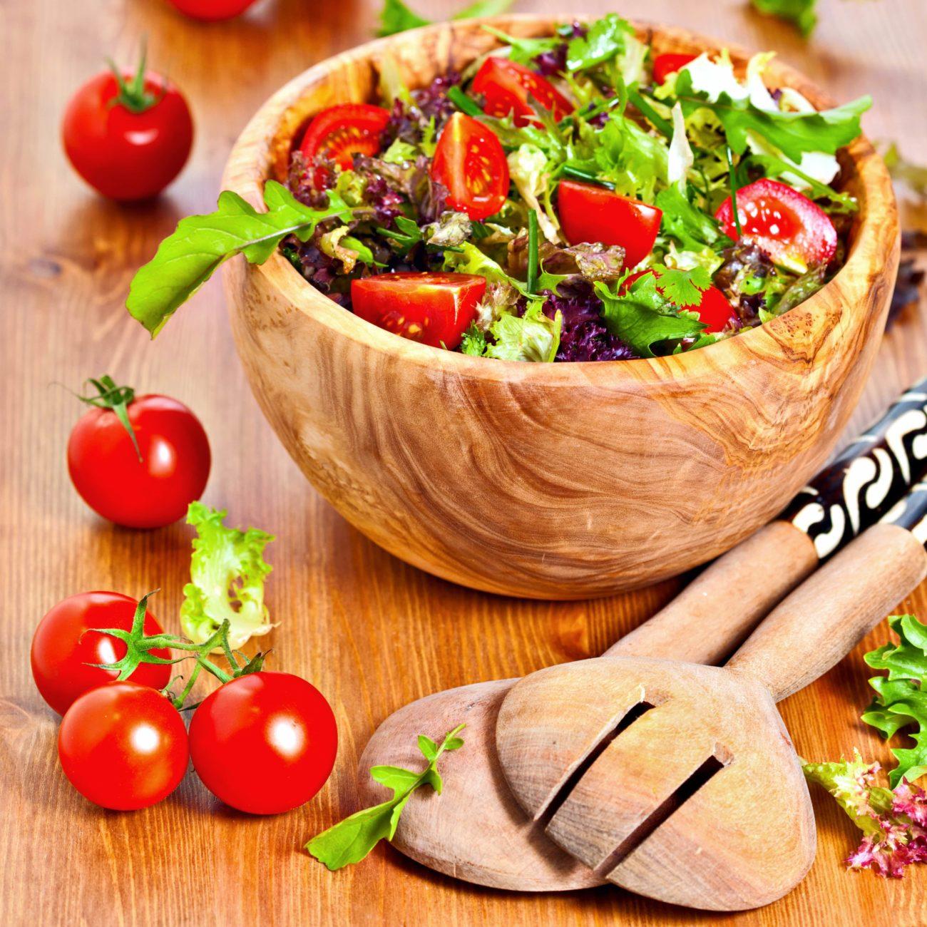 Tomaten-Rucolasalat