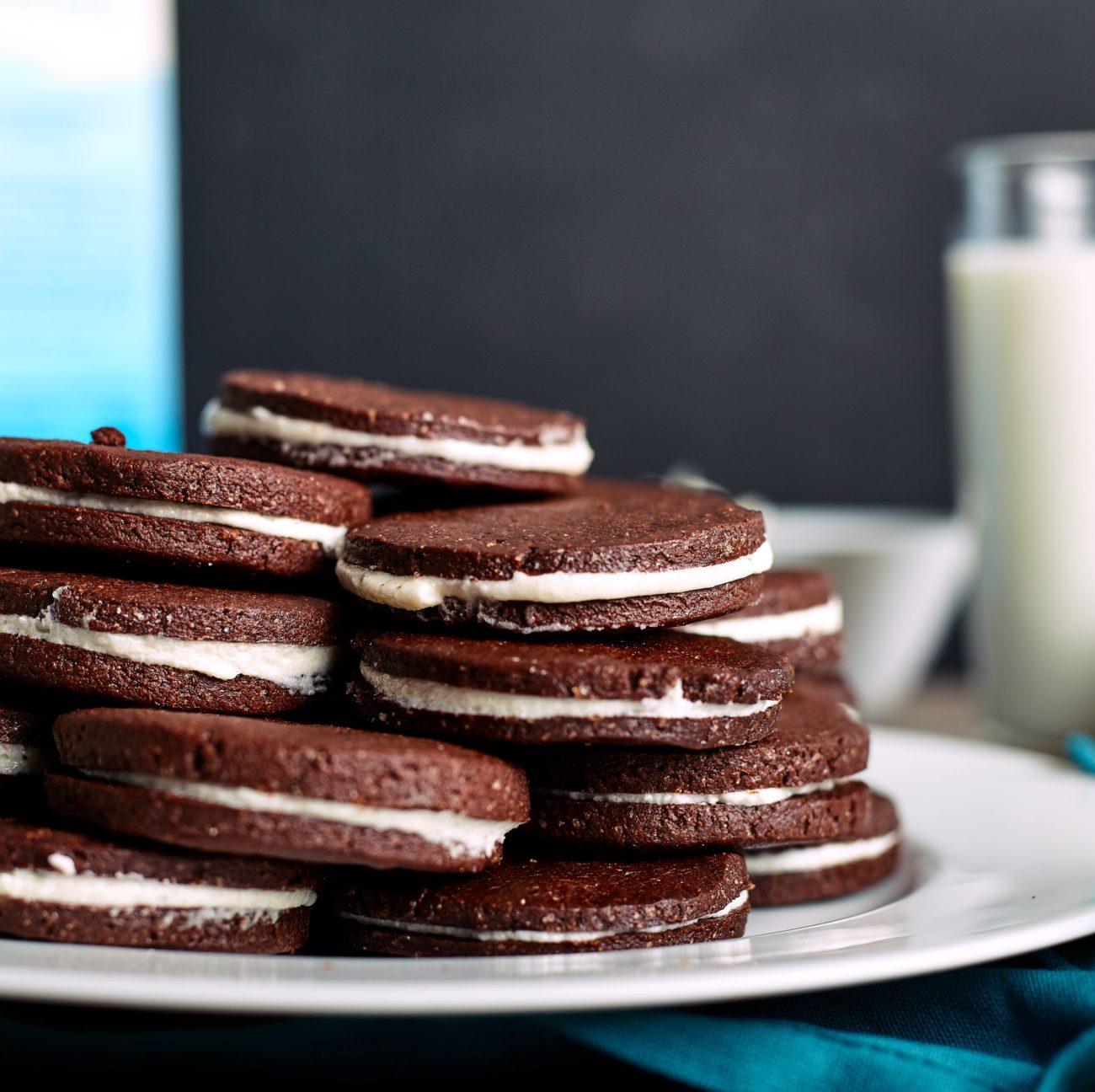 Schokocreme-Kekse