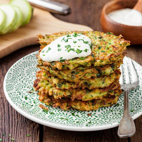 Zucchini-Fritter